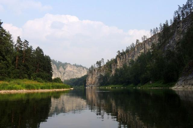 Река Агидель (Белая).