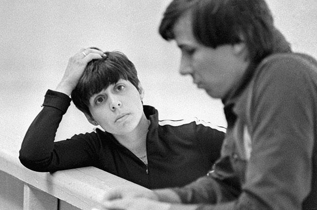 Ирина Роднина и Александр Зайцев, 1979 г.