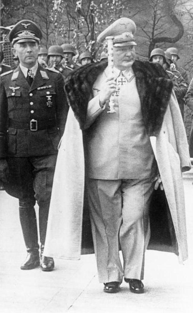 Герман Геринг в 1942 году.