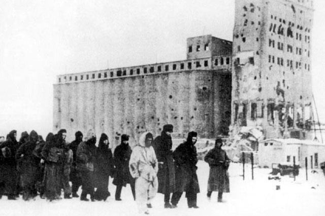 Немецкие военнопленные, Сталинград, 1943 г.