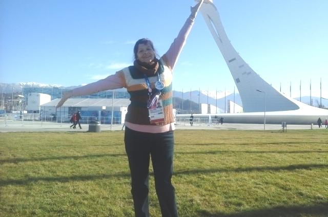 Олимпиада в Сочи, пожалуй, стала одним из самых ярких моментов жизни Ларисы Лагуновой.