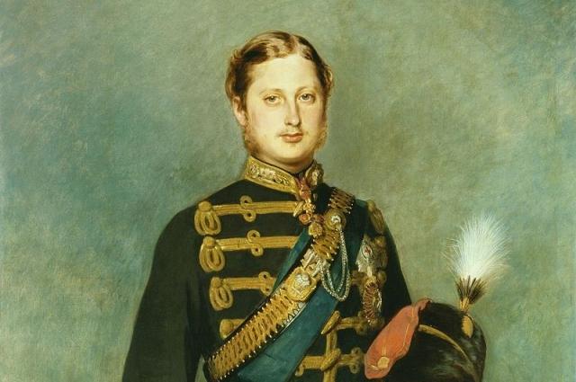 Принц Уэльский в 22-летнем возрасте.