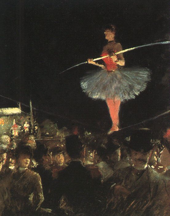 Жан-Луи Форен. Танцовщица на проволоке.