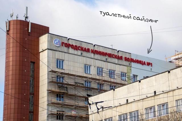 Сайдинг на здании Лев Владов назвал