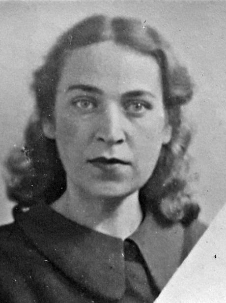 Участница Великой Отечественной войны Зоя Андреева.
