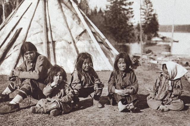 Селькупские дети