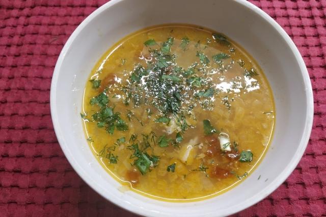 Такой суп не только вкусный, но и полезный.