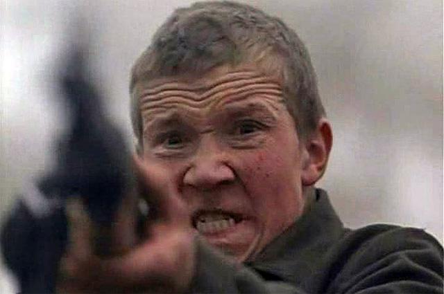 Алексей Кравченко в фильме «Иди и смотри», 1985 год