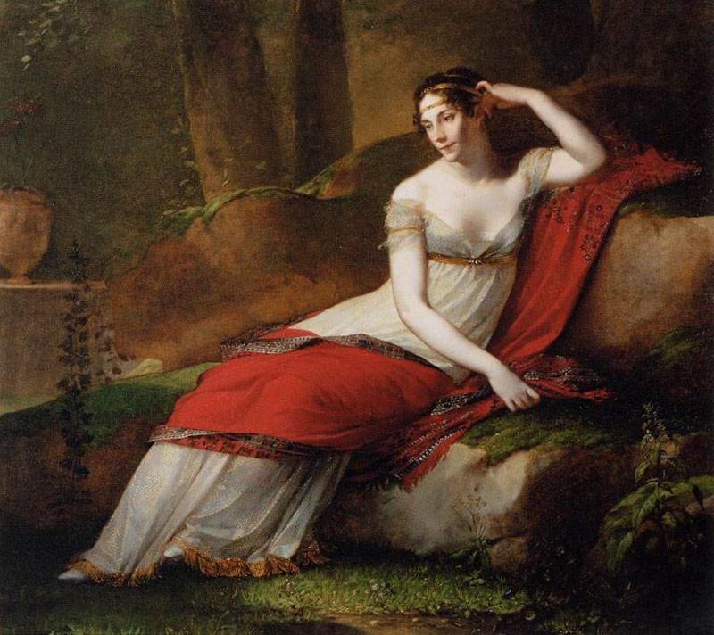 Жозефина на портрете работы Пьера-Поля Прюдона