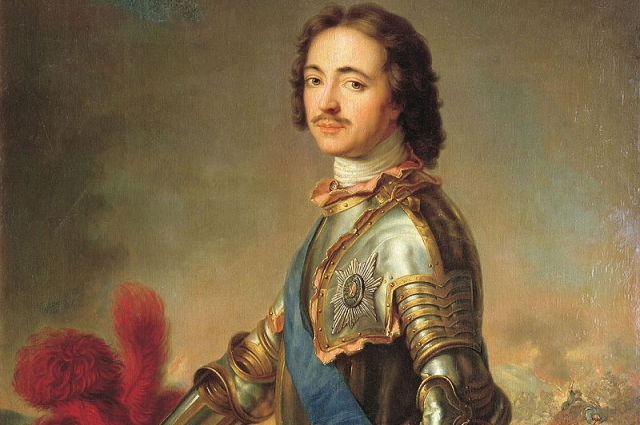 Петр удостоился этой награды лишь в 1703 году в награду за взятие шведских судов в устье Невы.