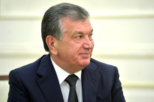 Шавкат Мирзиеев.