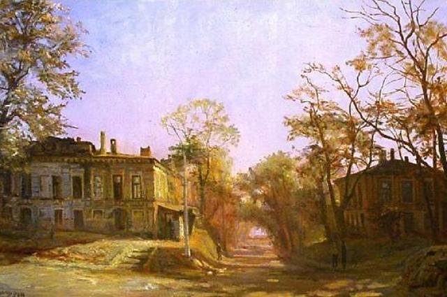 Старый ростовский дворик.