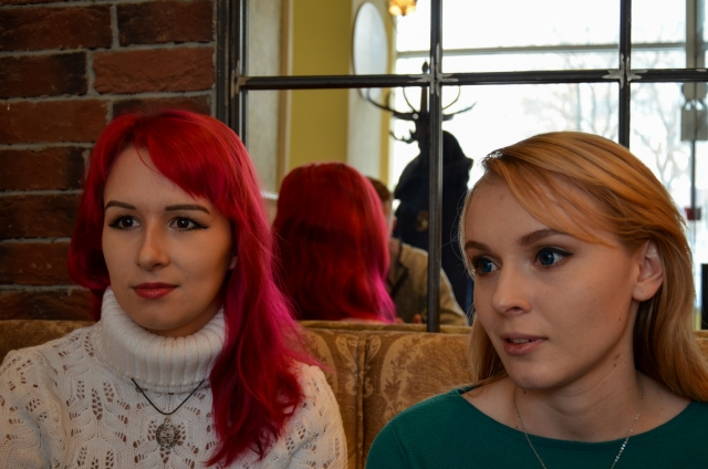 Таня (слева) и Женя.