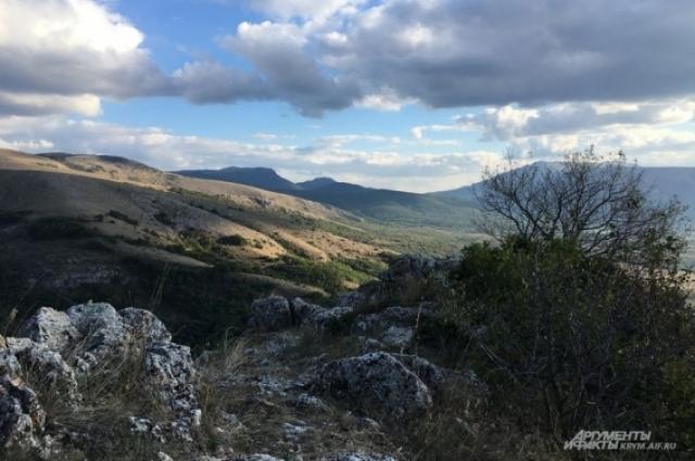 Крымские горы.