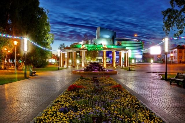 Парк имени Бориса Лосева, Ханты-Мансийск.