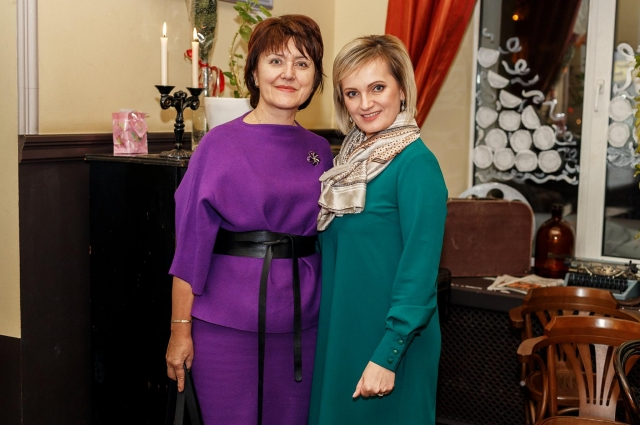 Ольга Бажина и Мария Точилина (слева направо).