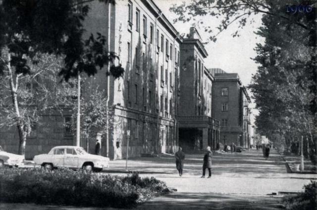 Гостиница Октябрьская. 60-е годы 20 века