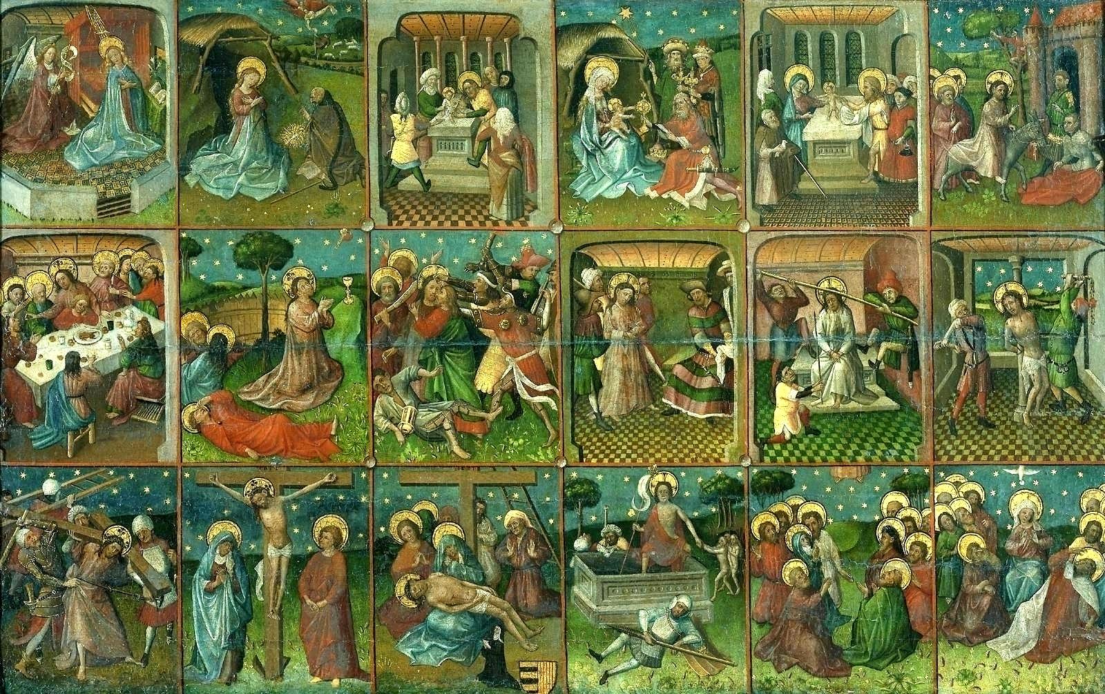 Страсти Христовы (анонимный художник XV века, Нидерланды)