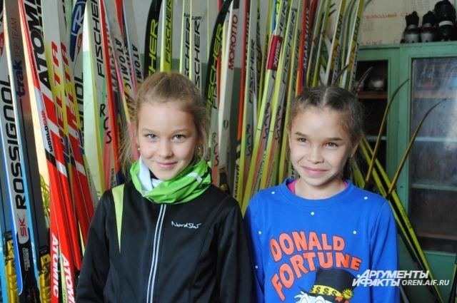 Марина Кошелева и Ильвина Алдабергенова - вполне возможно будущие олимпийские звезды.
