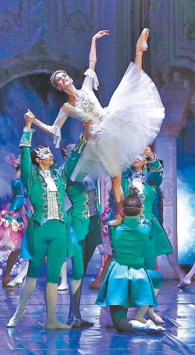В репертуаре Ксении Пухловской лучшие роли мирового балета.