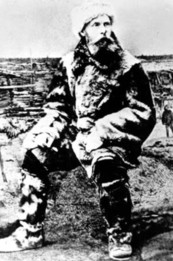 Эдуард Толль, 1902 год.