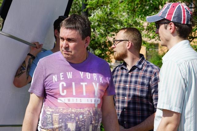 Дмитрий Одерусов и Вадим Френкин, создатели студии 35 мм, с энтузиазмом снимали кино