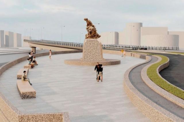 Монумент появится на набережной у «Лахта Центра».