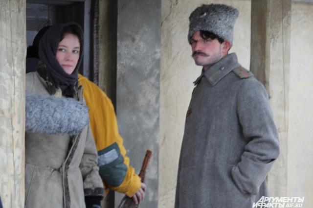 Аксинья и Григорий, центральные герои фильма Тихий Дон