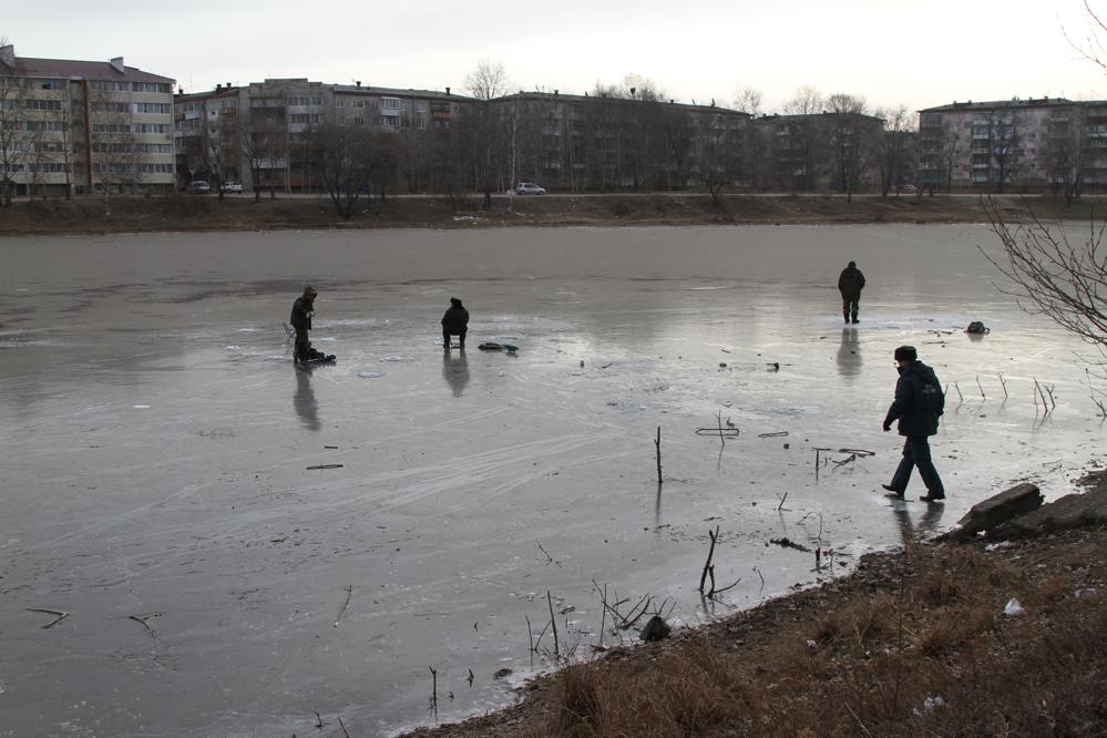 Люди на льду