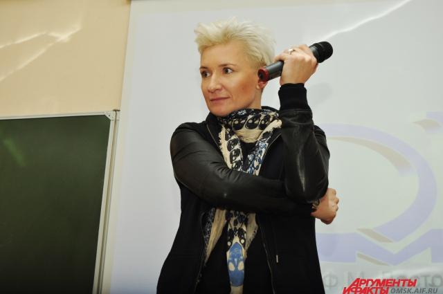 По словам Дианы Арбениной, Омск чем-то похож на Санкт-Петербург.