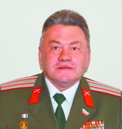 Атаман Павел Артамонов.