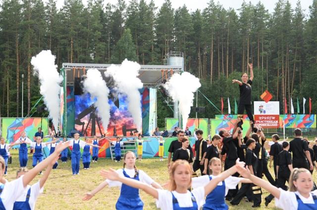 Компания принимает в своих детских лагерях участников олимпиады юных геологов.