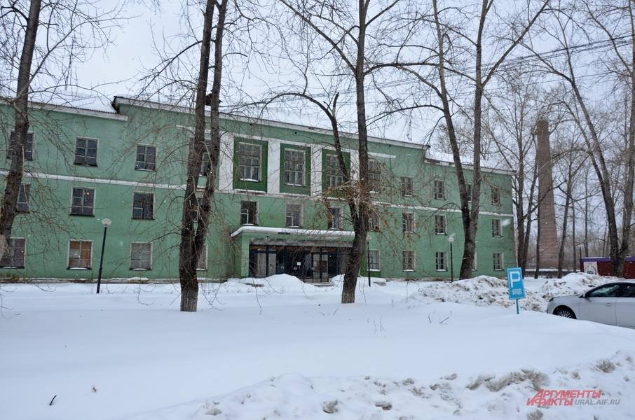 Здание заводоуправления уже продано.