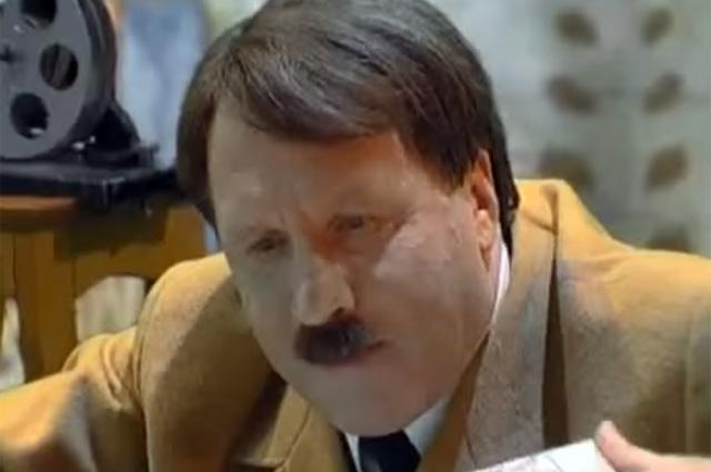 Владимир Стеклов в роли Гитлера