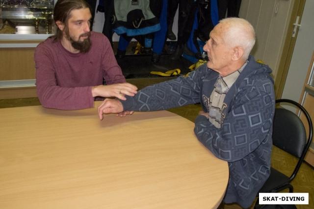 Трудно поверить, но Эдуард Михайлов впервые погрузился под воду в 78 лет.