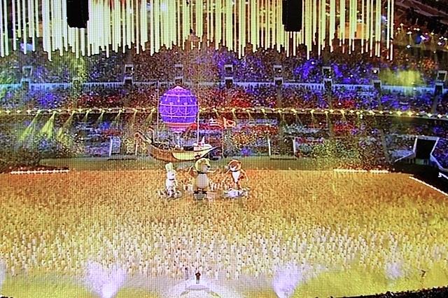 Закрытие Олимпийских игр, 2014 год.