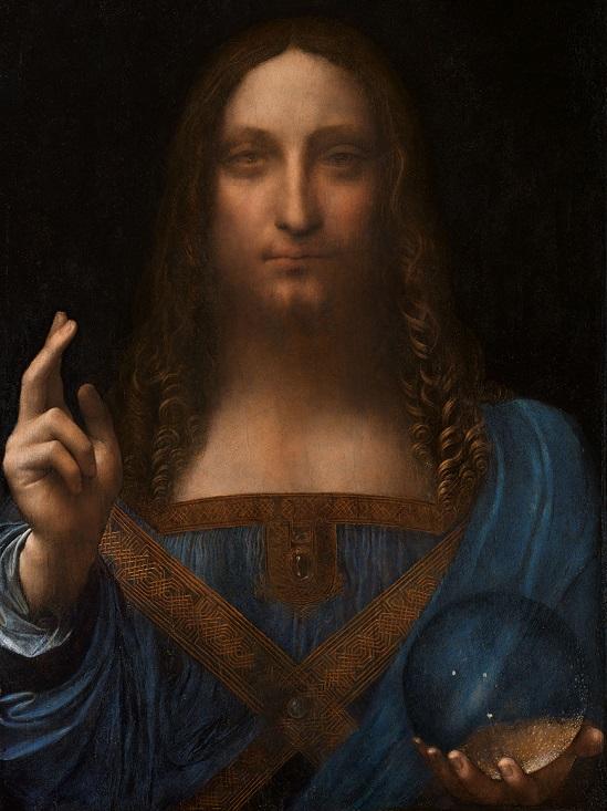 «Спаситель мира» Леонардо да Винчи.