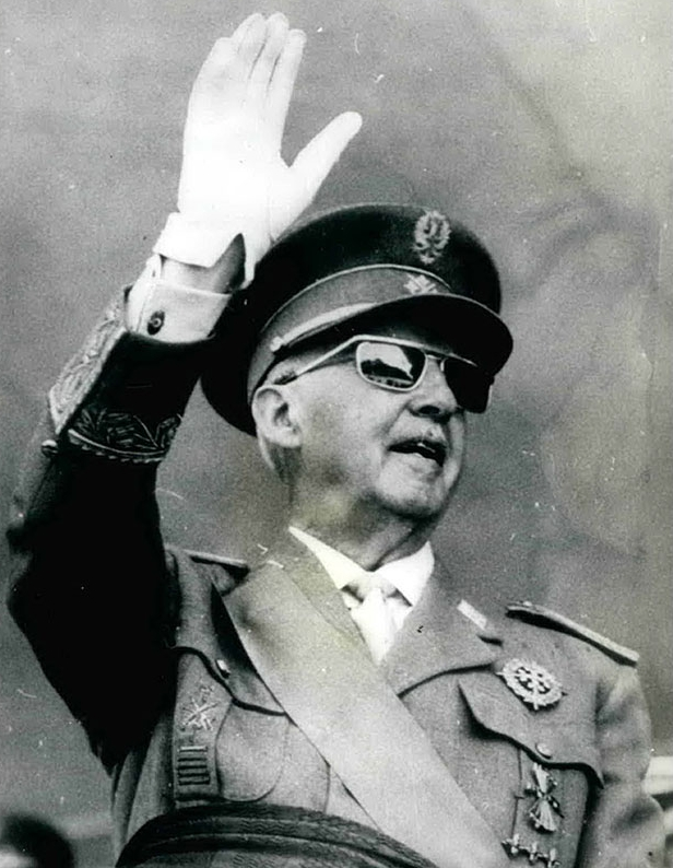 Франсиско Франко, 1972 г.