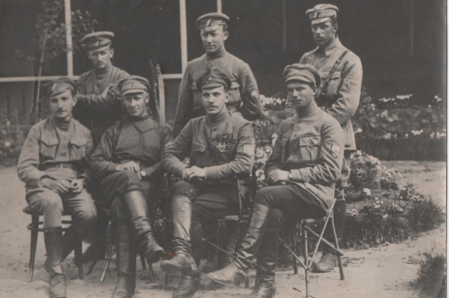 Штаб чехословацкого командира Гайды. 1918 год. г. Петропавловск