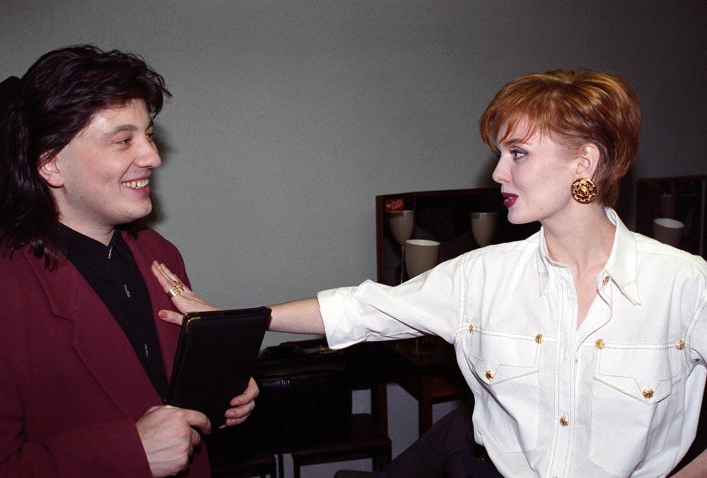 Александр Шульгин и Валерия.