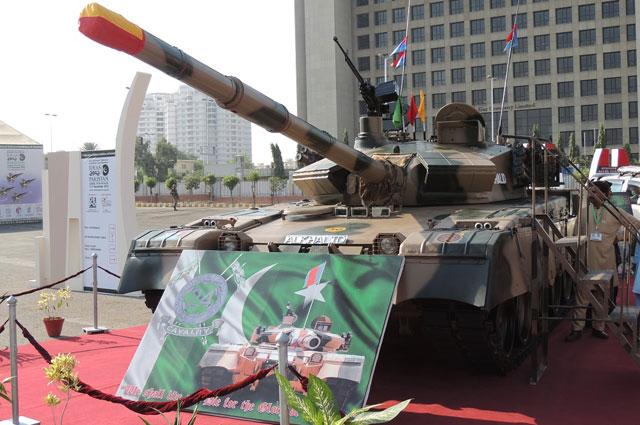 Китайско-пакистанский танк  «Al-Khalid».