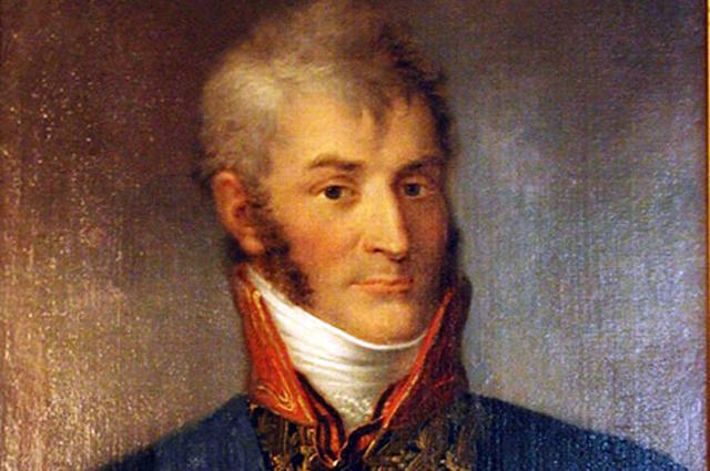 Портрет графа Николая Александровича Зубова.