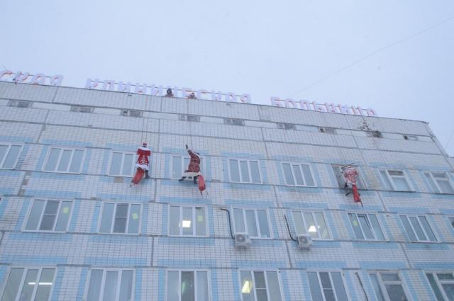 Все эти Деды Морозы — сотрудники МЧС.