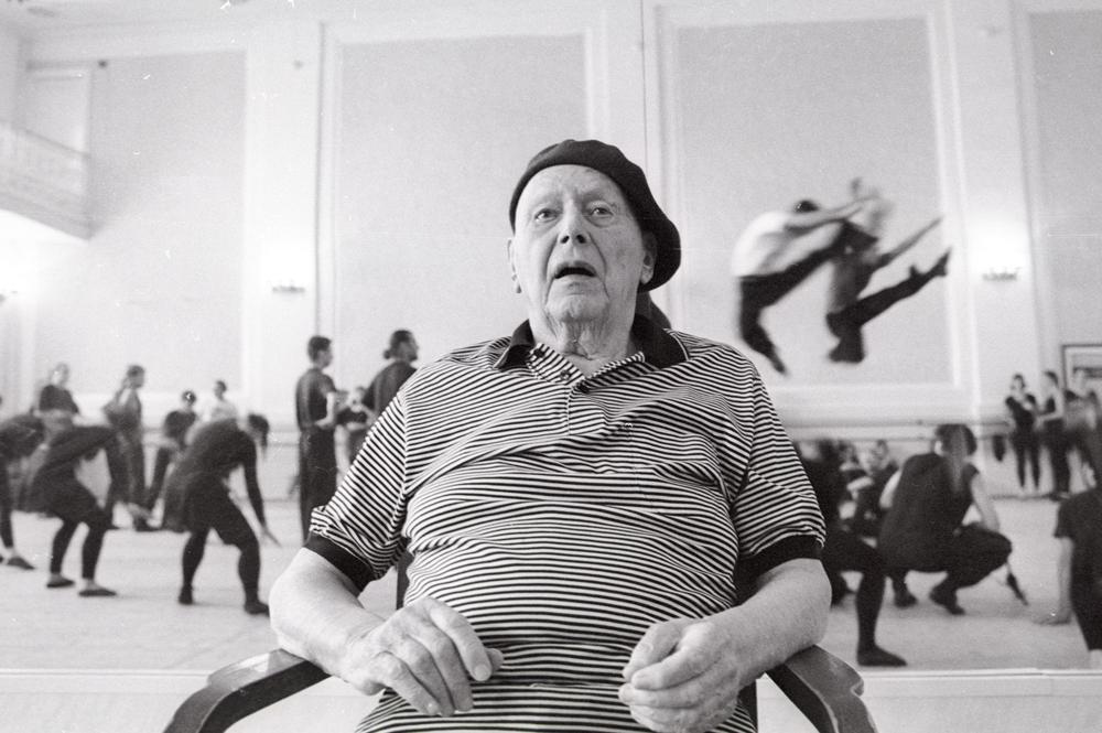 Игорь Моисеев на репетиции в ГКЗ им. П.И.Чайковского. 2001 год.