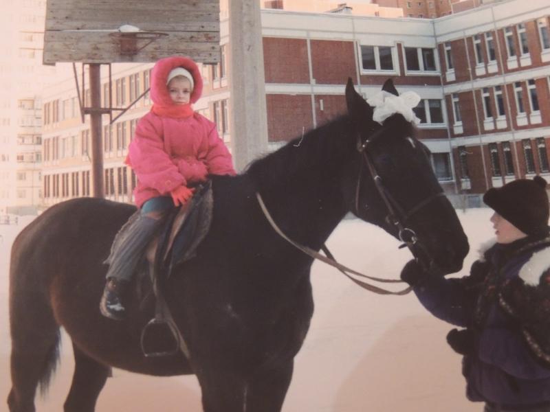 Лошадь спасла семью от гибели.
