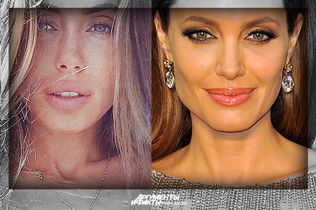 Галинка Миргаева и Анджелина Джоли.