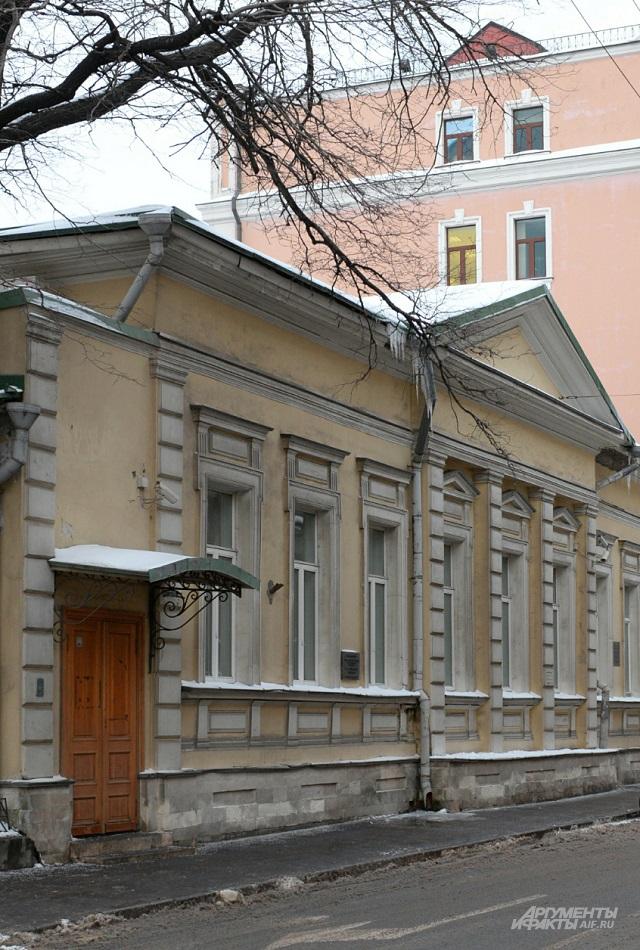 Дом, где работала Анна Голубкина.