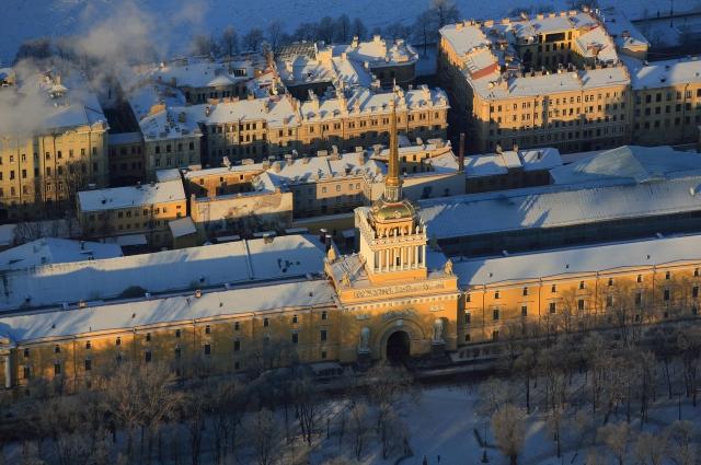 Песочинский особенно любит фотографировать исторический центр города.