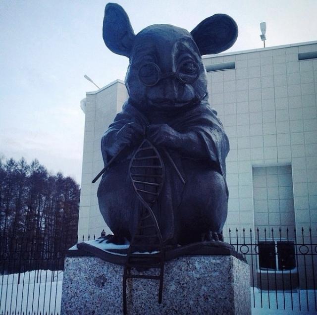 Памятник открыт 1 июля 2013 года, открытие приурочено к 120-летию Новосибирска.