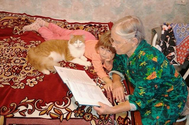 Котя стал любимцем семьи.